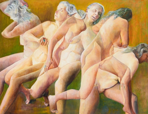 Transitions, 2012, Oil on canvas