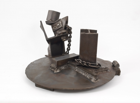 Waiting for Yesterday, 1990-1993, Welded steel
