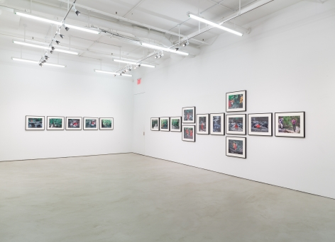 Lorraine O'Grady, installation view, Alexander Gray Associates, 2015