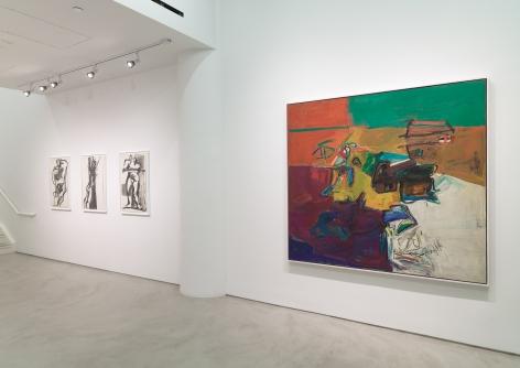 Joan Semmel: Across Five Decades, Installation View, Alexander Gray Associates,2015
