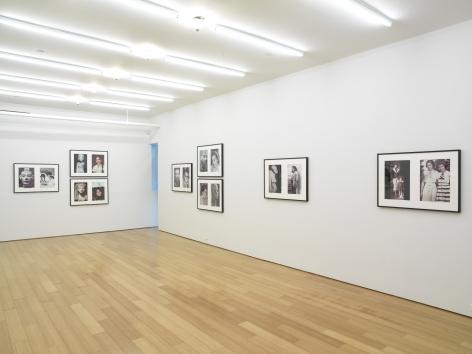 Miscegenated Family Album, 1980/1994,Installation view,Alexander Gray Associates, 2008