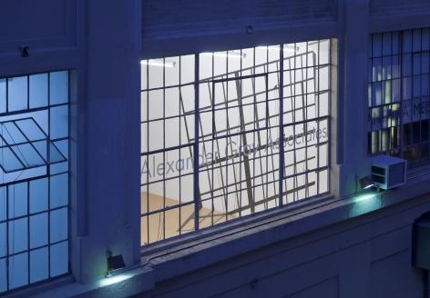 Shadow Line, Exterior view, Alexander Gray Associates, 2011