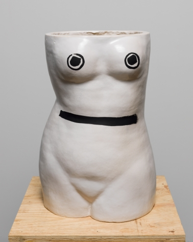 Amy Bessone, J1, 2014, Ceramic and oil paint