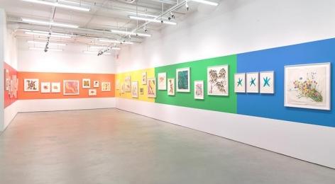 Vera Neumann: Vera Paints a Rainbow, Installation View, Alexander Gray Associates (2015)