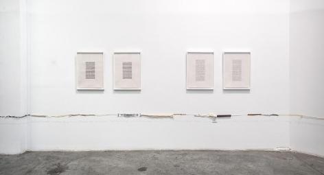 Two Parallel Lines, installation view, Satellite, Dubai (2013)