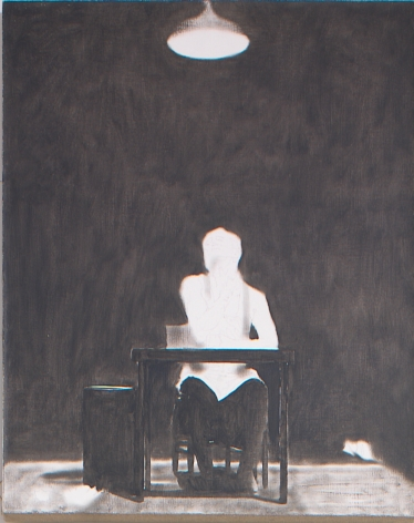 "Self Portrait from ""Divine Promiscue"", 2003, Oil on linen"