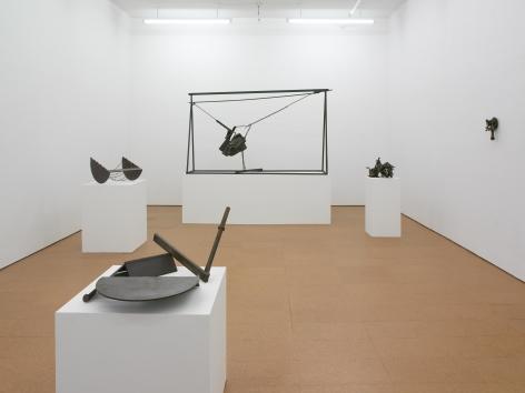 Melvin Edwards: Sculptures 1964-2010,Installation view, Alexander Gray Associates, 2010