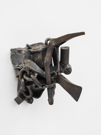 Ogun Again, 1988, Welded steel