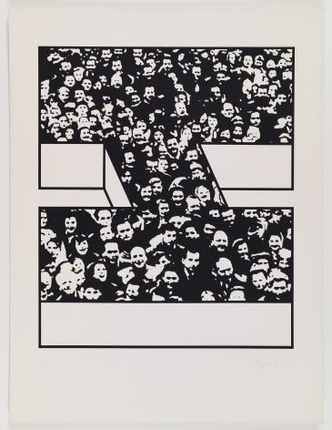 Middle Class & Co.,1971, Part 3 of 15, Silkscreens on paper with front and back cover