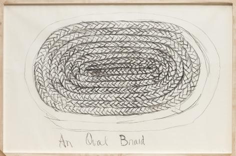 An Oval Braid (1972)