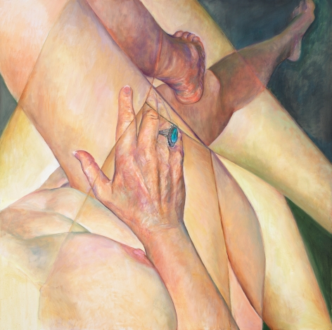 Crossed Legs, 2011, Oil on canvas