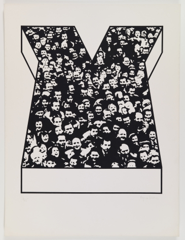 Middle Class & Co.,1971, Part 13 of 15, Silkscreens on paper with front and back cover