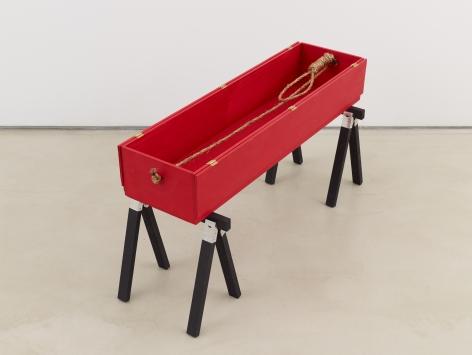 Tomb for Dietrich Bonhoeffer, 2016, Mixed media