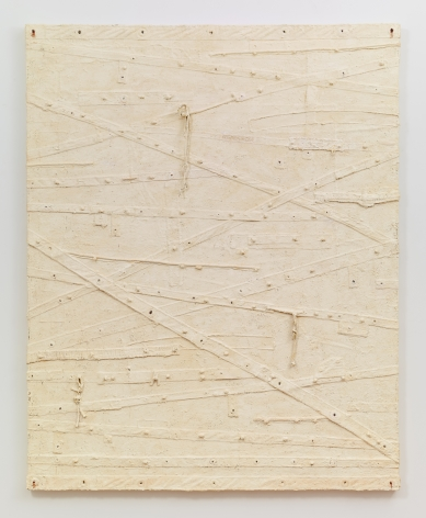 Blanco, 2012–2013, Oil and mixed media on canvas