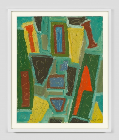 Untitled, 1950 Gouache on paper