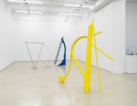 Melvin Edwards:Painted Sculpture, installation view, Alexander Gray Associates, New York, NY (2019)