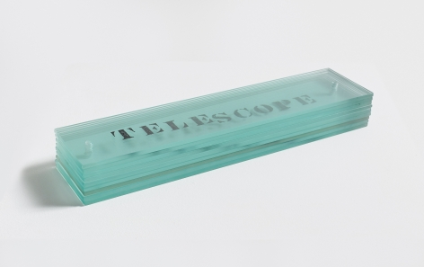 Telescope, 1967/1990 Engraved glass