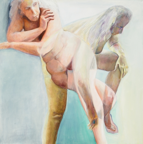 Turning, 2012, Oil On Canvas