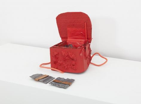 Box No 2 - Red, 2014, Mixed Media