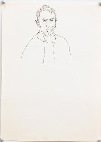 Untitled I, 2002, Ink on paper