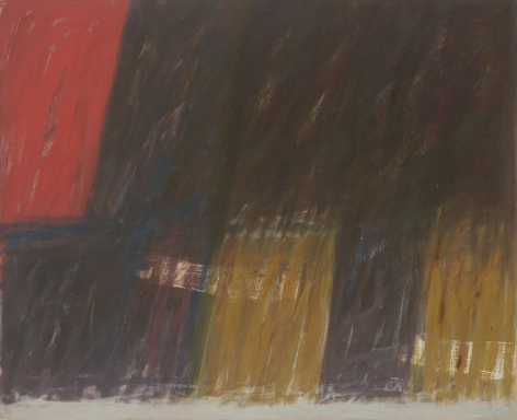 Nightfall, 1961, Oil on canvas