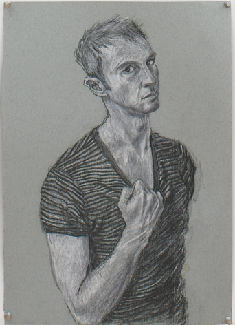 Untitled X (from Black and White Series), 1996, Pencil on paper