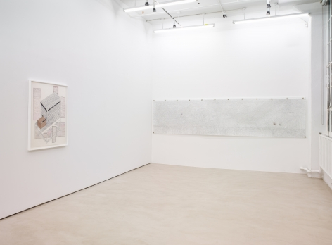 Siah Armajani, installation view, Alexander Gray Associates, 2016