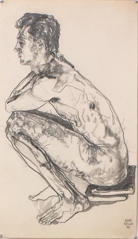 Untitled I, 1980, Graphite on paper