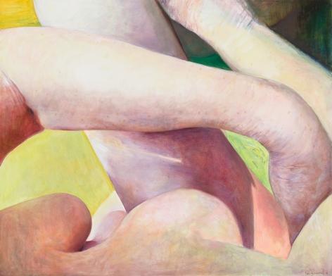 Crossed Limbs, 2016, Oil on canvas