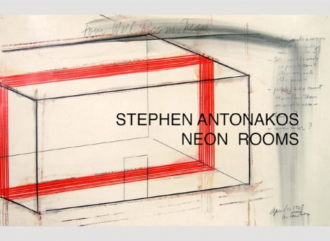Stephen Antonakos: Neon Rooms