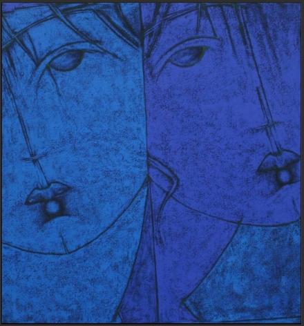 Untitled, 2007, Acrylic on canvas