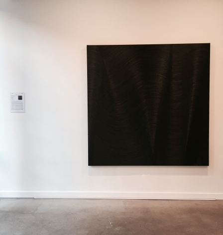 Installation view Super Massive Black Hole by James Austin Murray