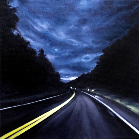 Route 6 September, No.1, 2018, Oil on canvas