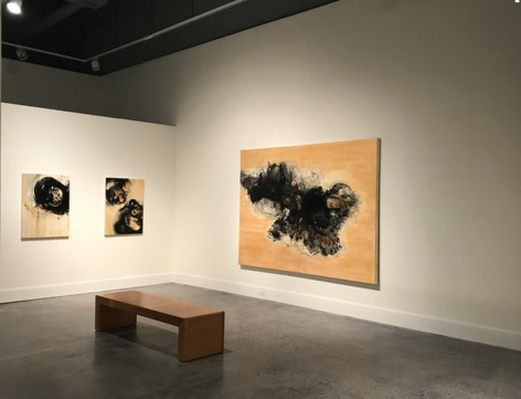 """Christopher Rico """"Everything That Was Forever"""" installation @ Elizabeth Stone Harper Gallery, Clinton, SC"""