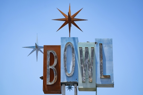 LA Bowl, 2020, Archival pigment print