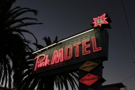 Pink Motel, 2020, Archival pigment print
