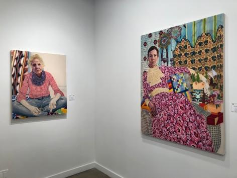 Installation view of Karen Greene Nam