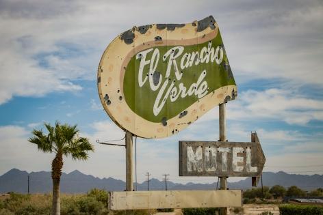 El Rancho Verde, 2020, Archival pigment print