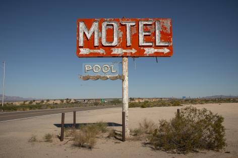 Motel.Pool, 2020, Archival pigment print