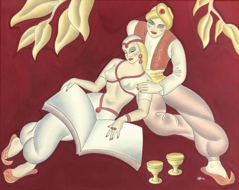 Scheherazade, Vintage painting