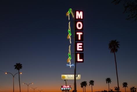 Motel, 2020, Archival pigment print