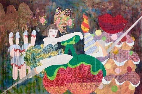 Kawaii, 2019, Acrylic on canvas
