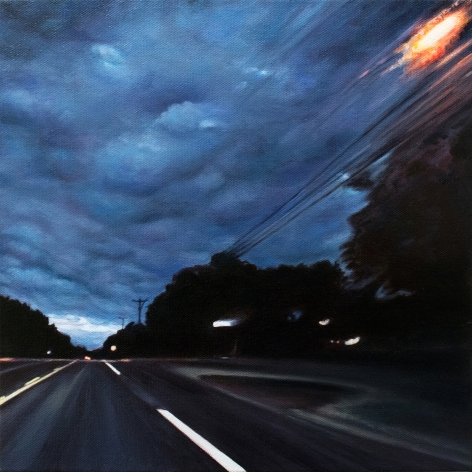 Route 6 No.6, 2018, Oil on canvas