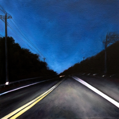 Route 6 November, No.2, 2018, Oil on canvas