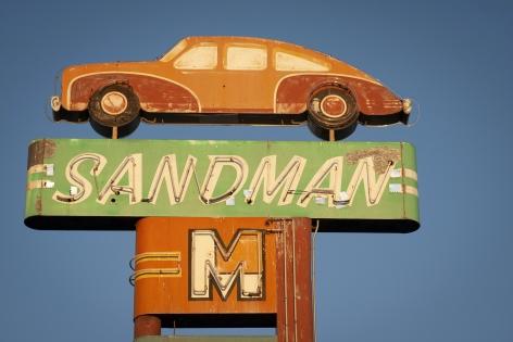 Sandman, 2020, Archival pigment print
