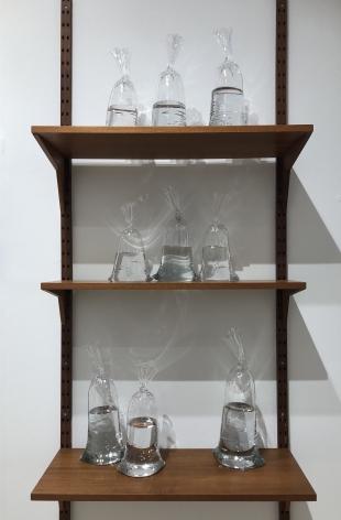 Dylan Martinez glass water bag installation