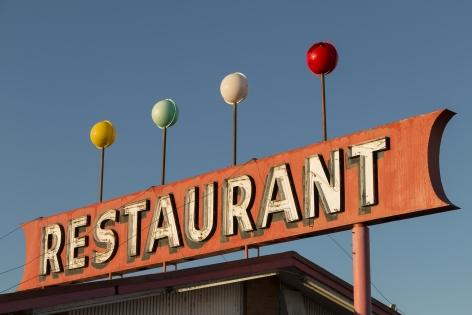 Restaurant, 2020, Archival pigment print