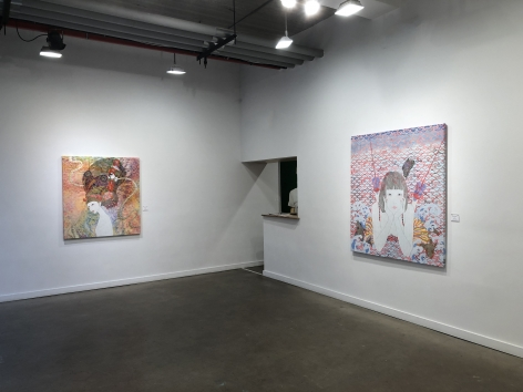 "Installation view of ""Animism"" by KAORUKO"