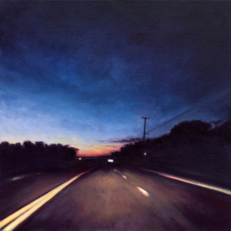 Route 6 November, No.1, 2018, Oil on canvas