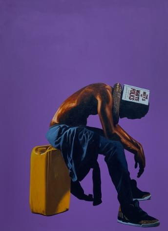 Artwork by Fahamu Pecou at Lyons Wier Gallery New York